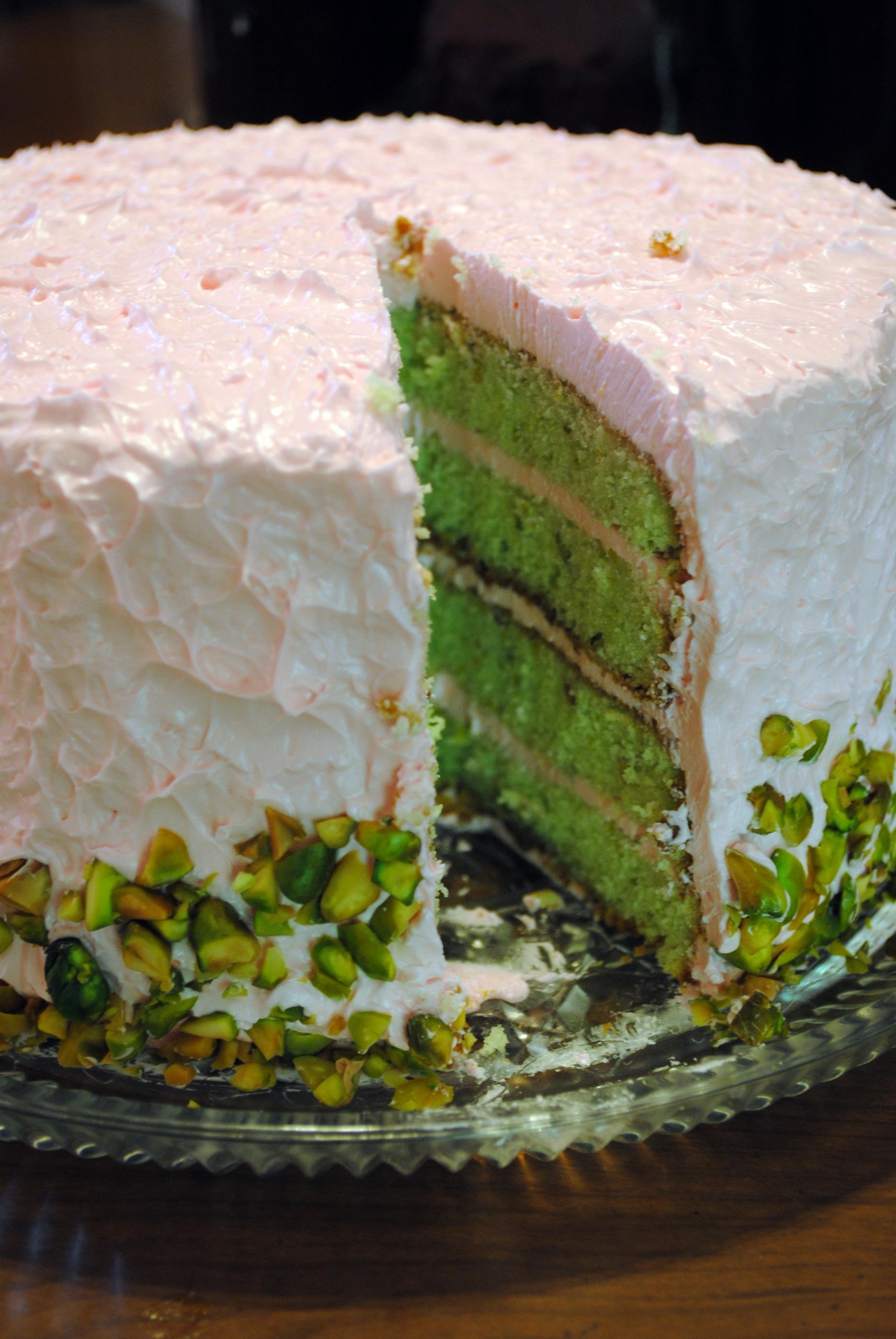 Homemade Pistachio Cake Recipes